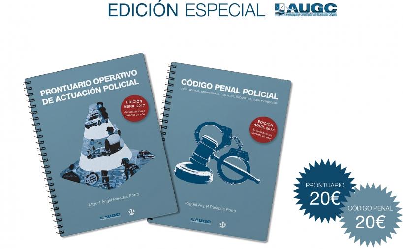 Portada de los dos libros que los afiliados de AUGC pueden adquirir con importantes descuentos.