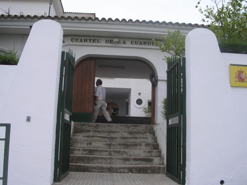 Cuartel de la Guardia Civil en Arcos de la Frontera