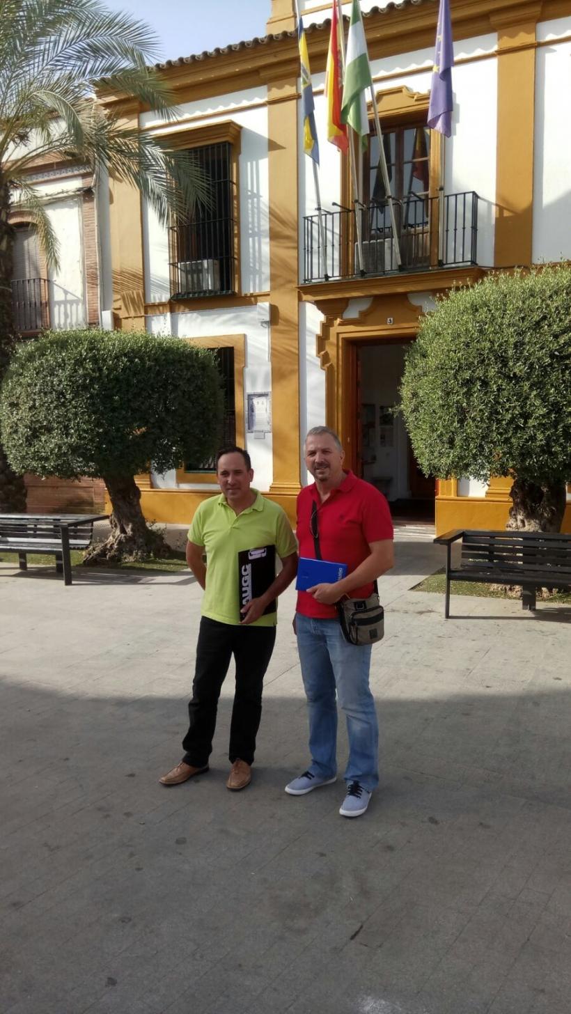 Reunion Alcalde de Gines (Sevilla)