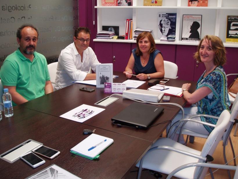 AUGC y el Colegio Oficial de Psicología en Castilla La Mancha establecen líneas de colaboración.