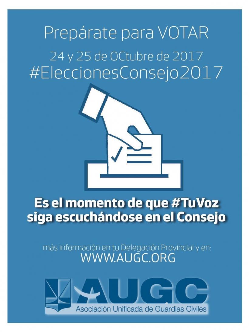 Las elecciones al Consejo tendrán lugar los días 24 y 25 de octubre.