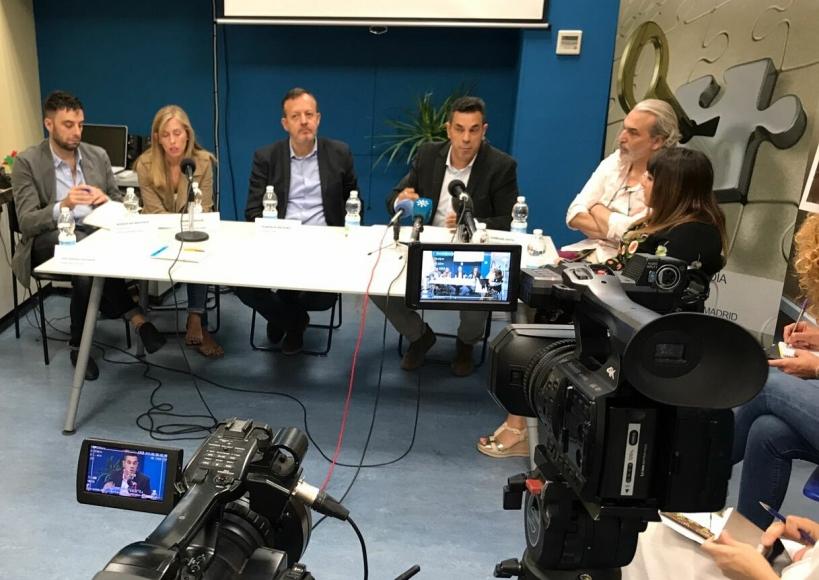 La rueda de prensa celebrada el pasado día 9 de septiembre