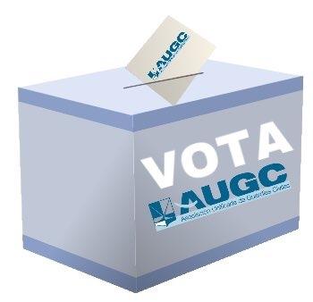 Vota AUGC en las Elecciones al Consejo 2017