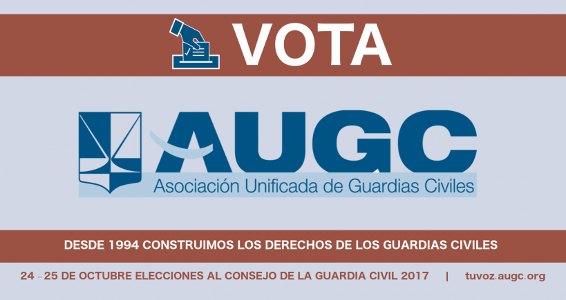 Tu voto es tu voz en el Consejo. Vota AUGC.