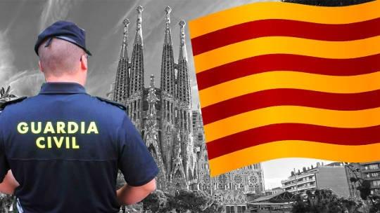 Los guardias civiles de Cataluña viven una situación preocupante.