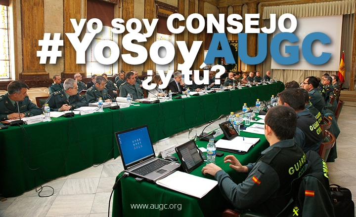 AUGC vuelve a ser la asociación más representada en el Consejo de la Guardia Civil.