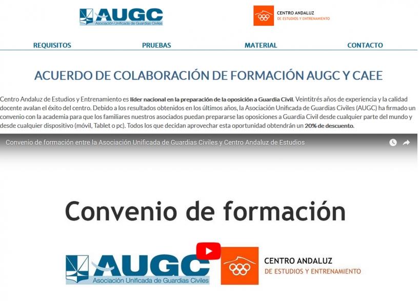 Acuerdo entre AUGC y el CAEE