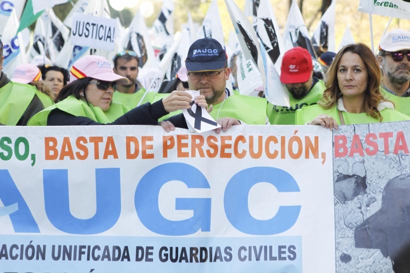 La Marea de Tricornios reunió hace dos años en Madrid a más de 12.000 manifestantes.
