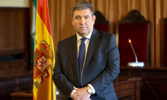 El director general de la Guardia Civil, José Manuel Holgado.