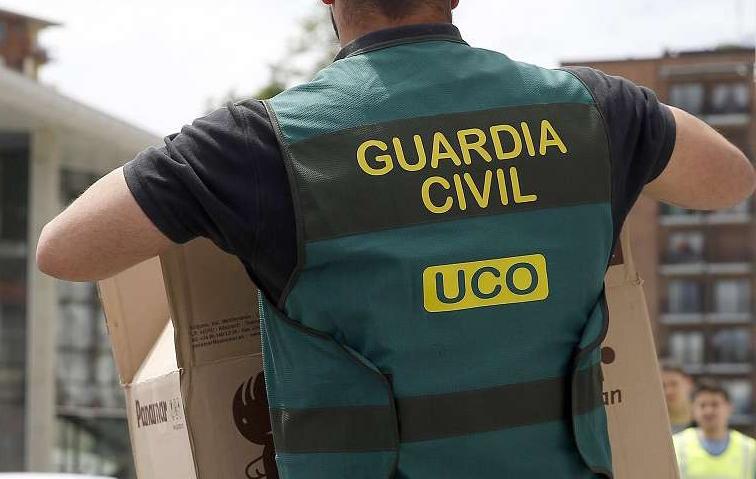 Imagen de archivo de un agente de la UCO.