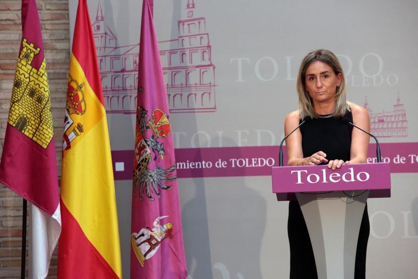 La alcaldesa de Toledo, Milagros Tolón.