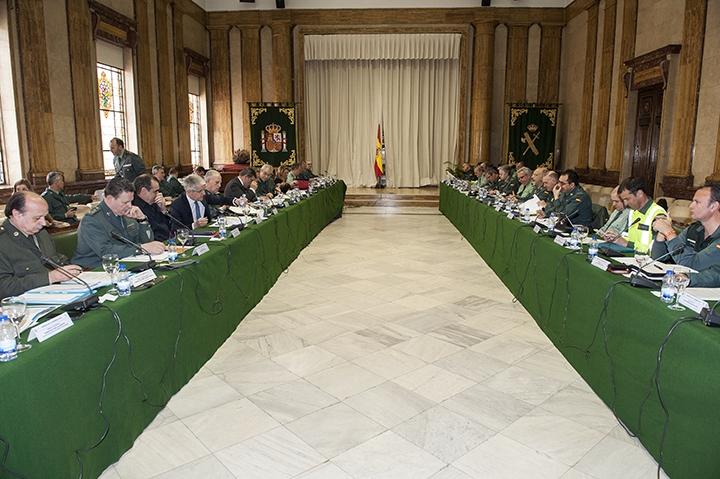 Imagen de uno de los plenos del Consejo celebrados este año.