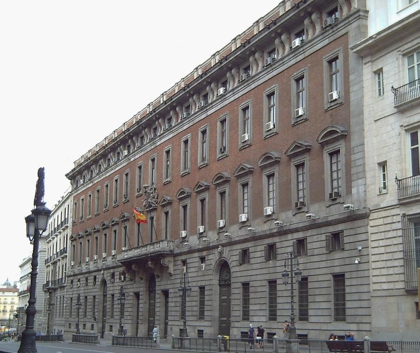 Sede del Ministerio de Hacienda y Administraciones Públicas.