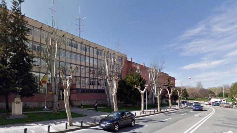Comandancia de la Guardia Civil en Pamplona, lugar donde tendrá lugar la asamblea de AUGC Navarra.