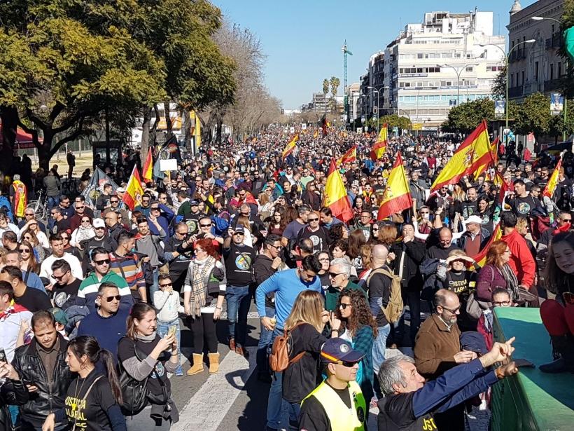 Manifestación Sevilla 3 de febrero