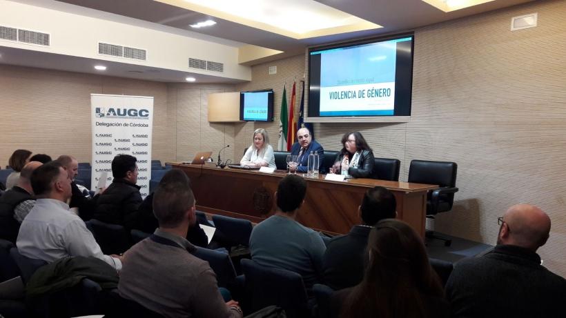 Curso de AUGC Córdoba sobre violencia de género