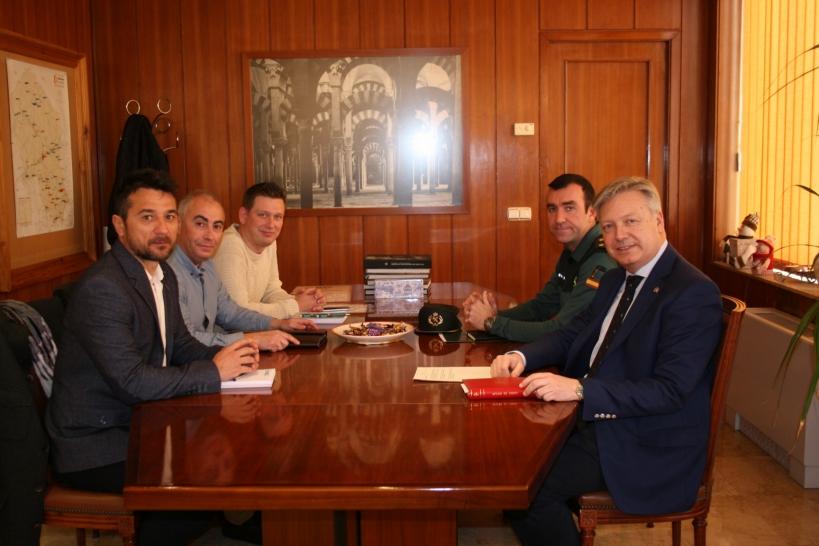 Reunión de AUGC Córdoba con el Subdelegado del Gobierno