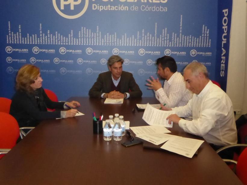 Reunión de AUGC Córdoba y PP