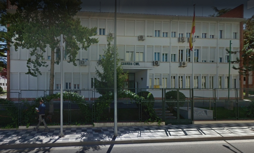 Comandancia de la Guardia Civil de Cuenca.