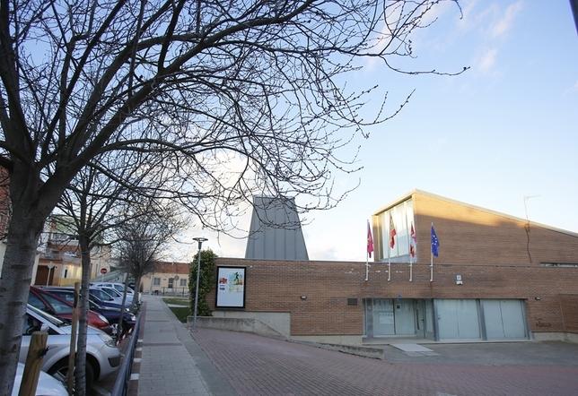 Centro Cívico de Zaratán que acoge el cuartel de la Guardia Civil en esta localidad vallisoletana.