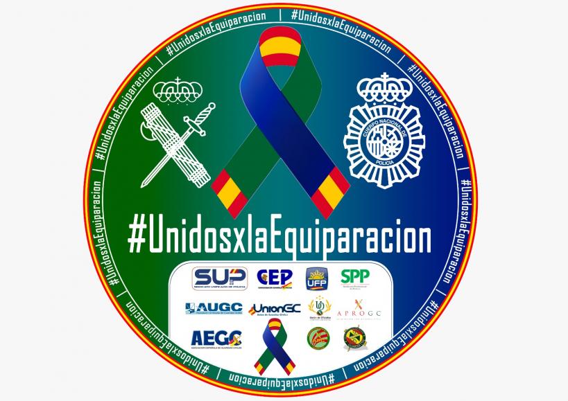 Imagen representativa de la unidad de acción entre las asociaciones  profesionales.
