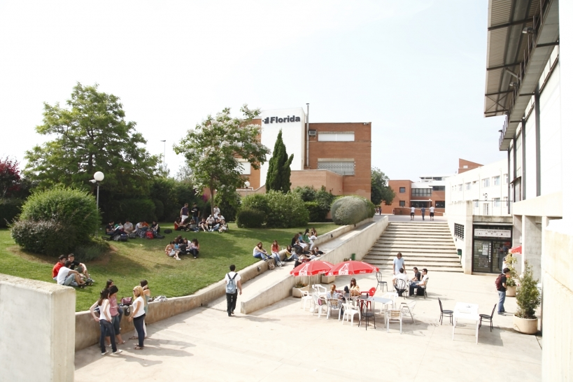 Sede de Florida Universitaria, en cuyo salón de actos tendrá lugar la asamblea.