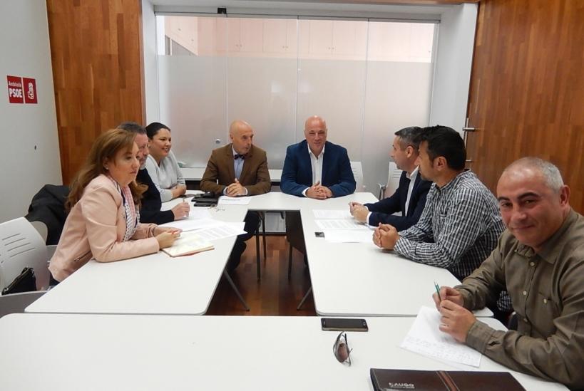 Reunión de AUGC Córdoba con PSOE