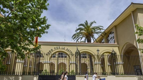 Comandancia de la Guardia Civil de Badajoz.