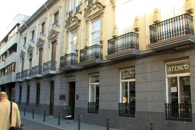 Fachada del Ateneo de Albacete, en cuya sede tendrá lugar la asamblea de AUGC.