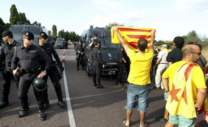 GRS de la Guardia Civil en Cataluña.