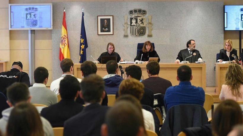 Vista de la sala donde se celebra el juicio. Foto: EFE / Fernando Villar.