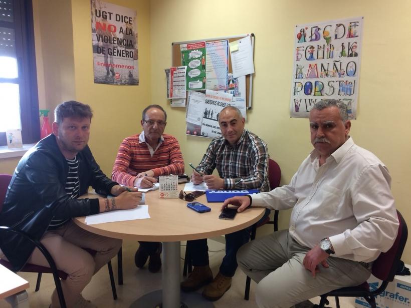 Reunión de AUGC y UGT en Córdoba