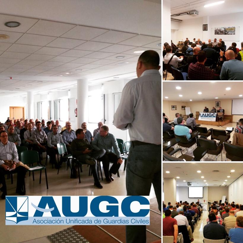 Imágenes de varias de las asambleas celebradas esta semana.