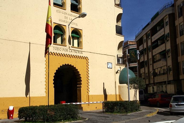 Comandancia de la Guardia Civil de Ciudad Real, donde tendrá lugar la Asamblea General Electoral de AUGC.