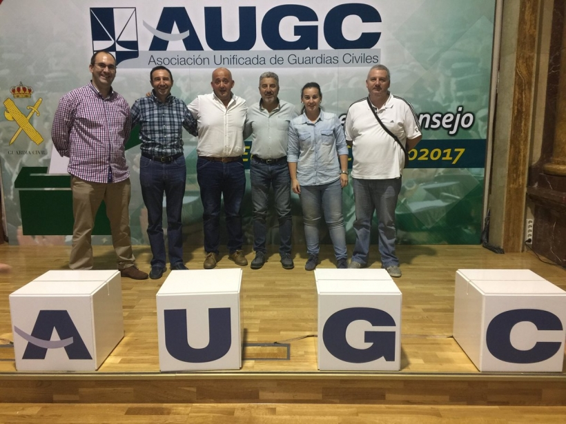 Junta Directiva Provincial de AUGC Badajoz.