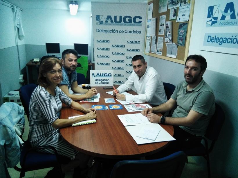 Reunión de AUGC Córdoba y Córdoba Acoge