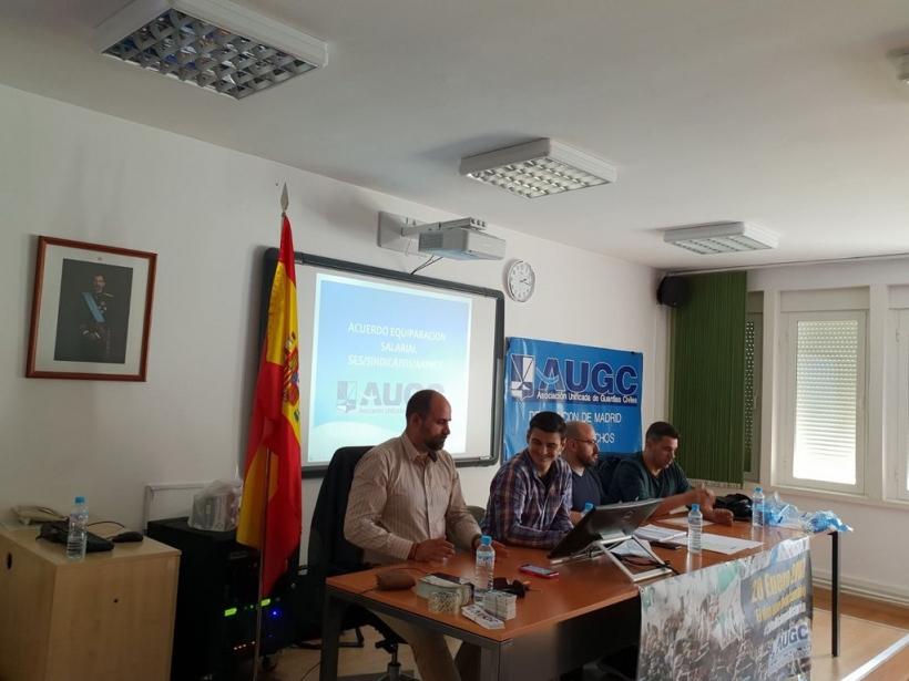 Reunión de vocales de AUGCC Madrid