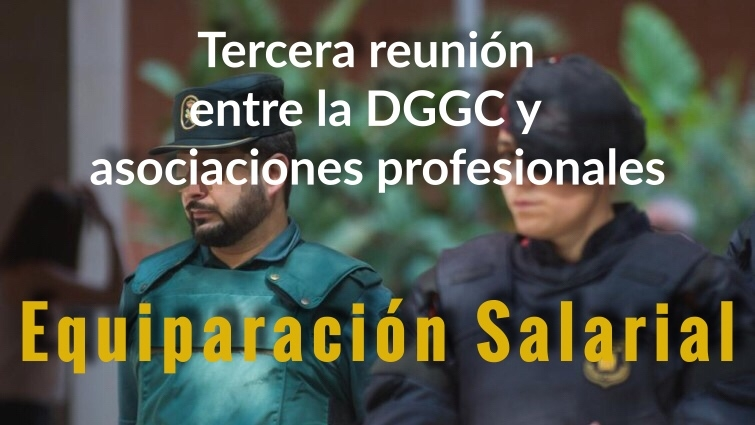 Tercer encuentro entre la DGGC y los representantes de las asociaciones profesionales.