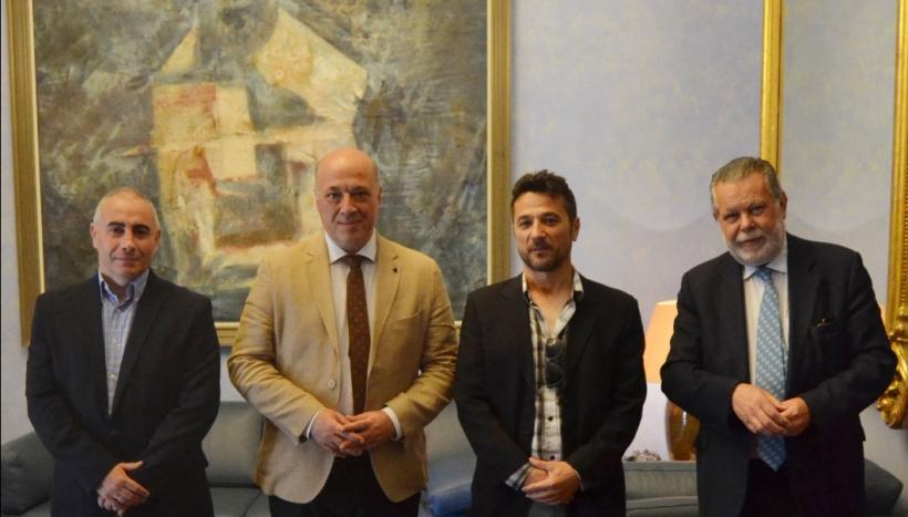 Reunión de AUGC y Presidente de Diputación de Córdoba