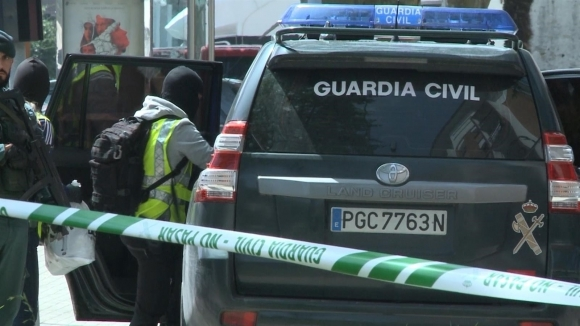 Efectivos de la Guardia Civil.