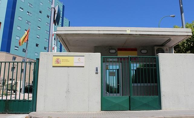 Comandancia de la Guardia Civil de Burgos.