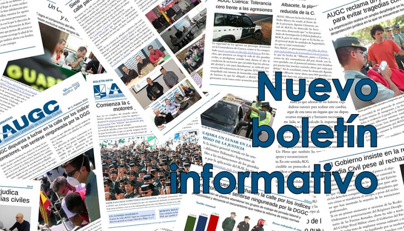 Boletín informativo de AUGC.