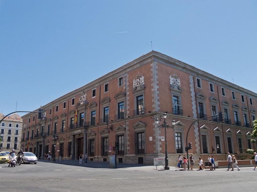 Sede en la calle Mayor de Madrid del Consejo de Estado, El Consejo de Estado es el supremo órgano consultivo del Gobierno de España