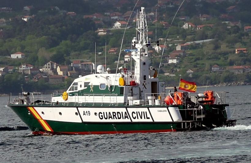 Patrullera de altura del Servicio Marítimo de la Guardia Civil. Foto: Javier Alonso.