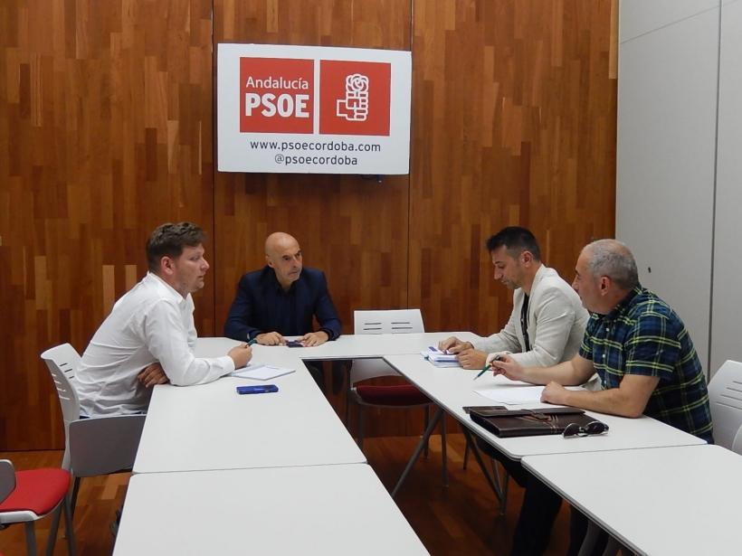 Reunión de AUGC con el diputado socialista Antonio Hurtado