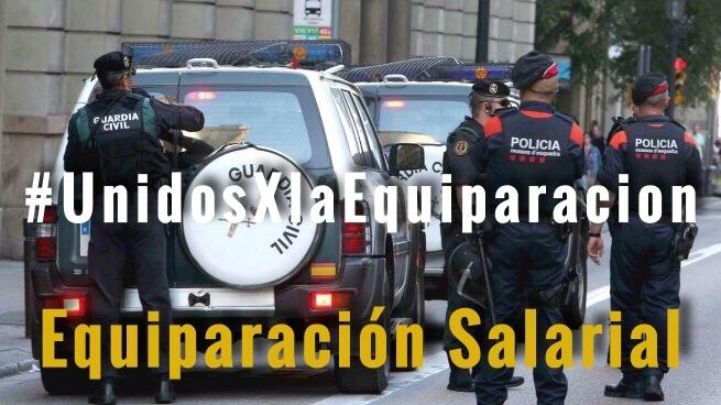 El acuerdo firmado garantiza que en enero de 2020 ningún guardia civil cobre menos que otro policía en España.