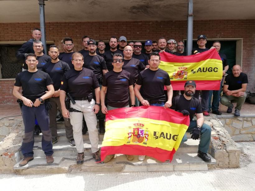 Alumnos del curso impartido por AUGC Murcia.