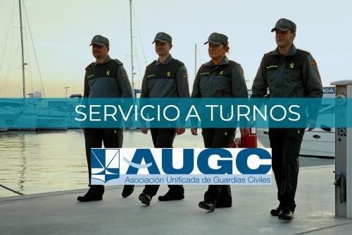 AUGC continuará trabajando para que los guardias civiles tengan una jornada laboral digna.