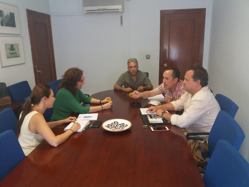 Reunión AUGC Andalucía con CCOO