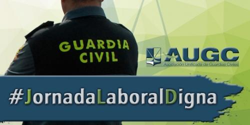 Los guardias civiles merecen una jornada laboral digna.